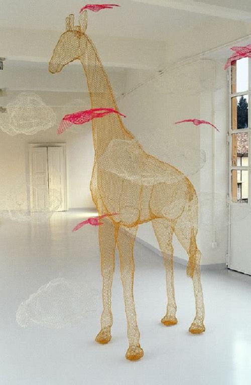 sculpture by Benedetta Mori Ubaldini