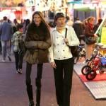 Valeria and her mum