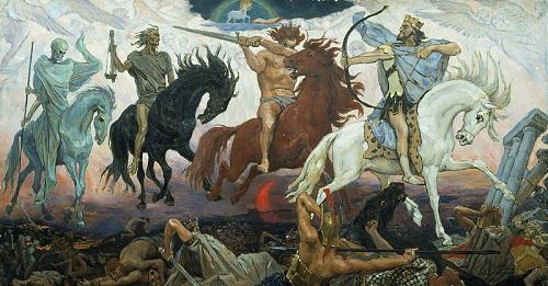 The Biblical Four Horsemen of the Apocalypse