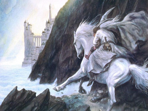 """""""White Knight"""" is a symbol of salvation."""