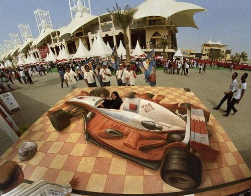 3D images by Kurt Wenner