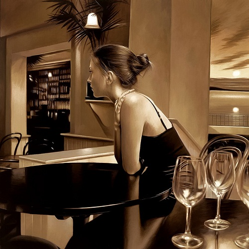 Hyperrealistic painting by Rob Hefferan