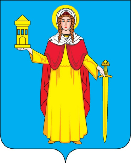 coat of arms of the village Vlasikha in the Moscow region