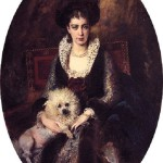 Portrait of artist's wife Maria