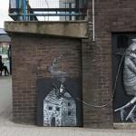 street-art by Phlegm, British artist from Sheffield