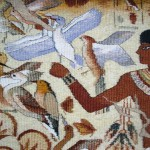 tapestry 'Egyptian fresco'