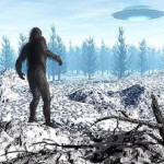 when big foot and ufo meet