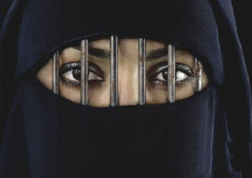 Muslims are taught to beat their wives