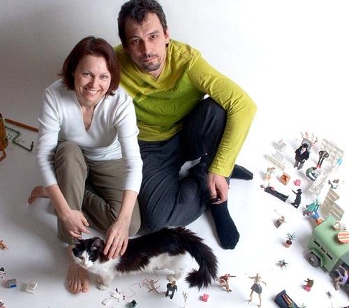 Alexei Lyapunov and Elena Erlikh