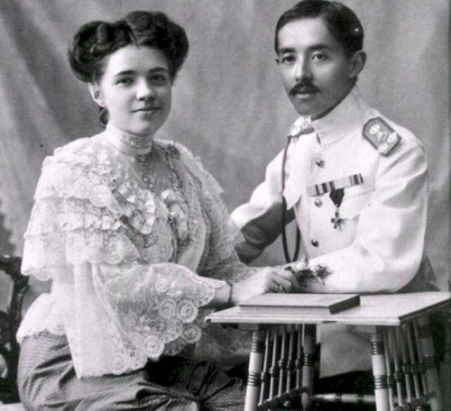 Ekaterina Desnitskaya Princess of Siam and Chakrabongse Bhuvanadh