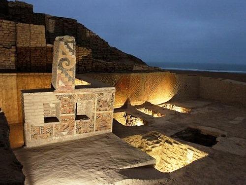 El Brujo. Peru