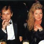 Mikhail Baryshnikov and Marina Vladi