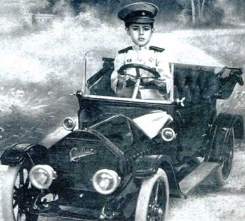Son of Prince Chakrobon on 'Cadillac', 1916