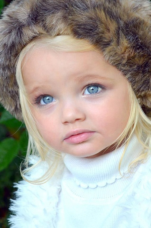 Ira Brown 2-year-old model
