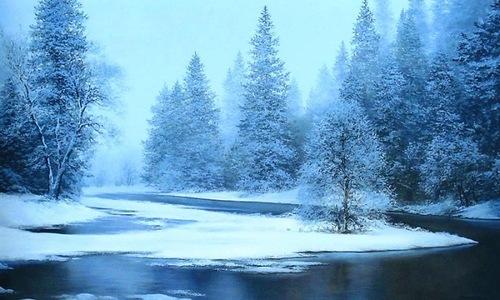 Winter landscapes by Evgeniy Karlovich