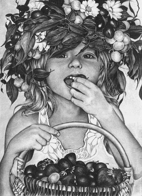 Pencil drawings by Irina Krivoruchko