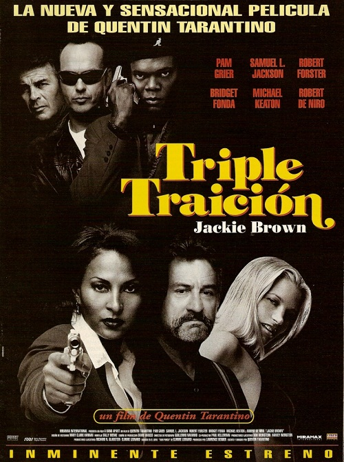 Jackie Brown 1997 crime drama film written and directed by Quentin Tarantino