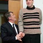 Leonid Stadnik and ex President of Ukraine