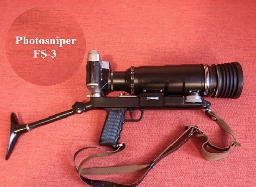 Cameras made in the USSR. Photo-sniper FS-3