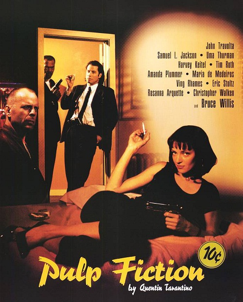 Pulp Fiction 1994 American crime film directed by Quentin Tarantino 2