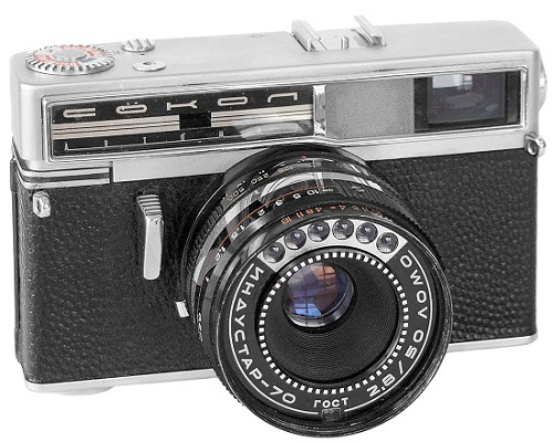 Cameras made in the USSR. Sokol (Falcon Automat)