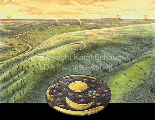 The Sky Disc gives us a glimpse how our ancestors saw the course of the universe 3600 years ago.
