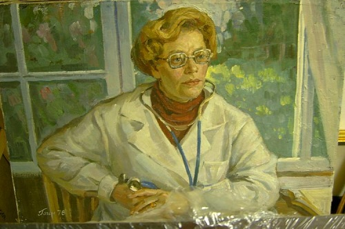 The portrait of doctor Myagkova M.A.
