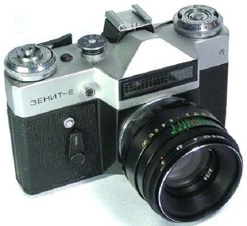 Cameras made in the USSR. Zenit-E