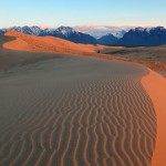 Siberian desert Chara Sands, photo by Alexander Savchenko