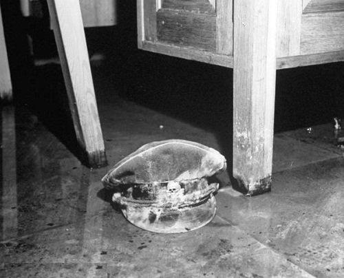Inside Hitler and Eva Braun Bunker