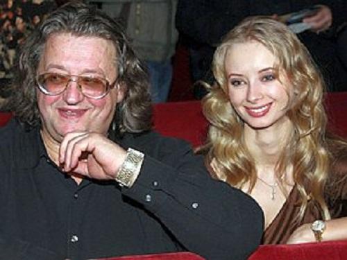 Alexander Gradsky and Marina Kotashenko, 10 years together