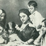 In this marriage were born six children: Feodor, Tatiana, Irina, Lydia, Igor (who died at the age of 4) and Boris.