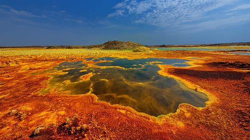 Ethiopia Dallol volcano