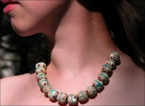 Beautiful Cleopatra's necklace