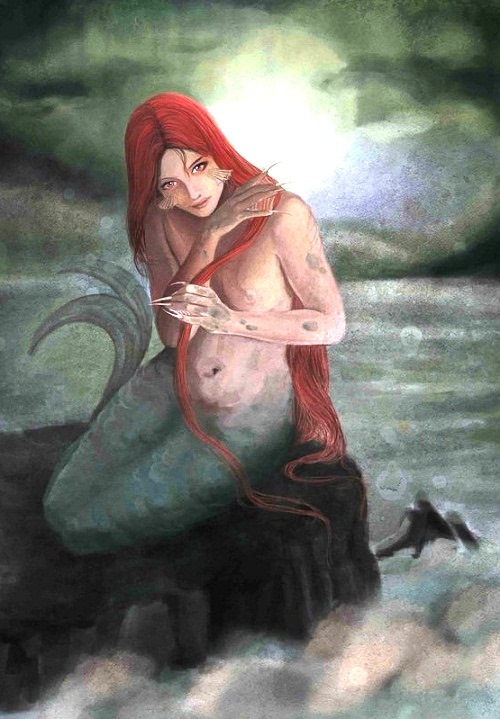 Russian mermaid Rusalka