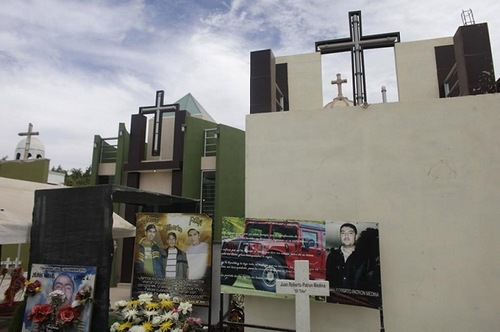 Mausoleums of Mexican drug traffickers