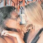 Alexander Gradsky and Marina Kotashenko, happy together