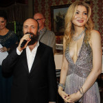 Actor Khalid Ergench and Gulnara Karimova