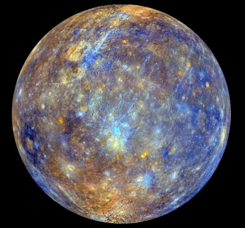 mercury planet color - photo #5
