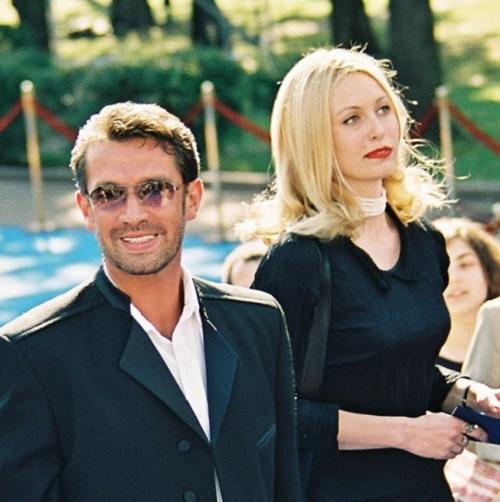 Daughter of Nonna Terentyeva – Xenia and actor Vladimir Mashkov
