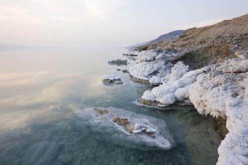 Dead Sea, Jordan. deserts by George Steinmetz