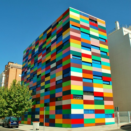 Colorful Buildings: Beauty Will Save, Viola, Beauty In Everything