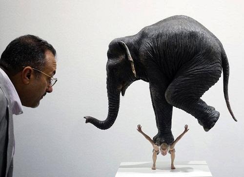 Fabien Merelle sculpture