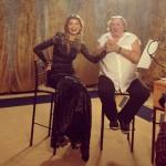 Gerard Depardieu and Gulnara