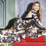 Gulnara Karimova as a model