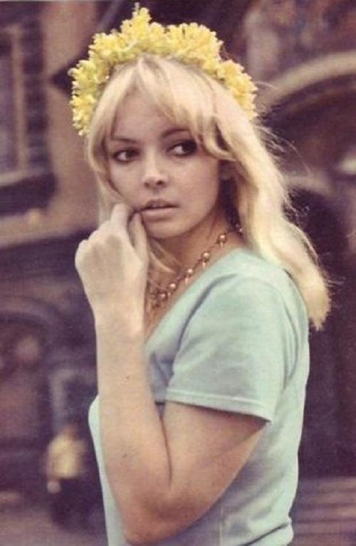 Beautiful Russian actress Nonna Novosyadlova (Terentyeva)