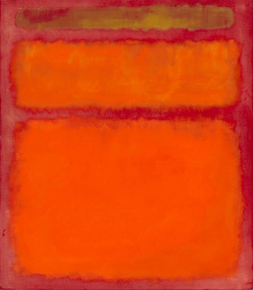"""Orange, Red, Yellow"" (1961) was sold for 86.8 million dollars. Rothko's 'Orange, Red, Yellow' has become the most expensive post-war work sold at auction."