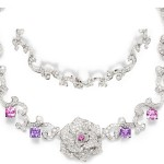 Piaget Rose Limelight Garden Party necklace
