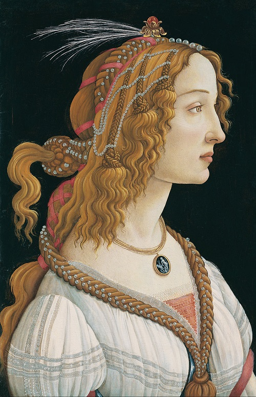 Portrait of a young woman, 1484