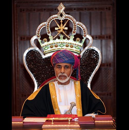 Sultan of Oman Qaboos Bin said Al′busaidi